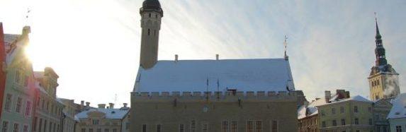 Tallinas vecpilsēta ziemā