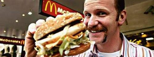 Mēnesi pārtiek tikai no McDonalds virtuves